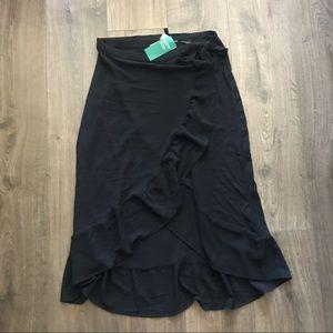 H&M Ruffle Wrap Skirt